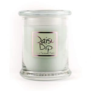 Daisy Dip Candle Jar by Lily Flame