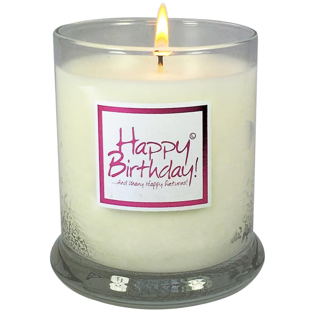 Happy Birthday Candle Jar By Lily Flame