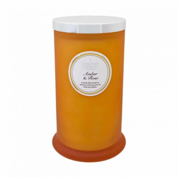 Shearer-Amber-and-Rose-Tall-Pillar-Candle