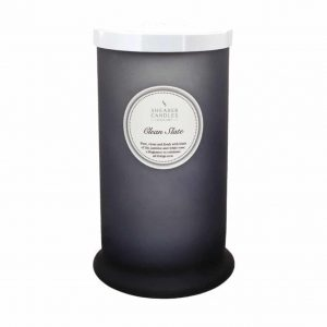 Shearer Clean Slate Tall Pillar Candle