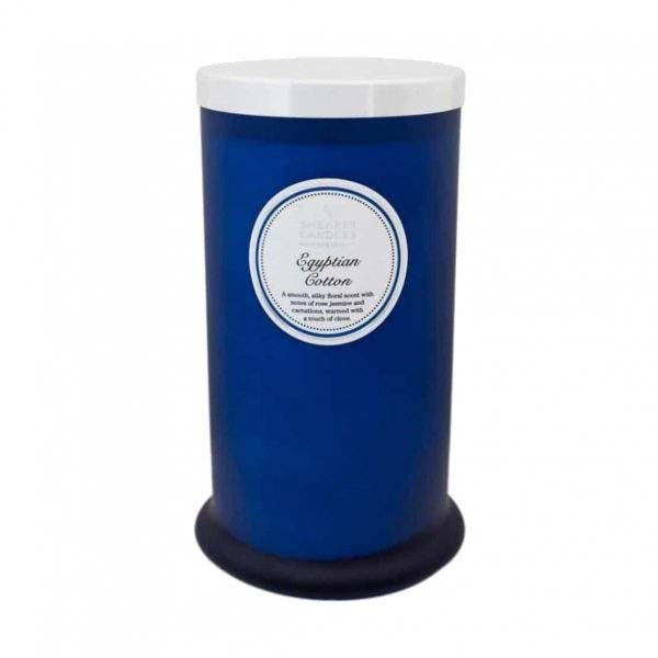 Shearer Egyptian Cotton Tall Pillar Candle