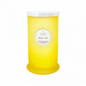 Shearer Lemon Zest Tall Pillar Jar Candle