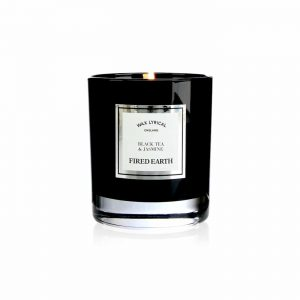 Wax Lyrical Black Tea and Jasmine Boxed Glass Candle