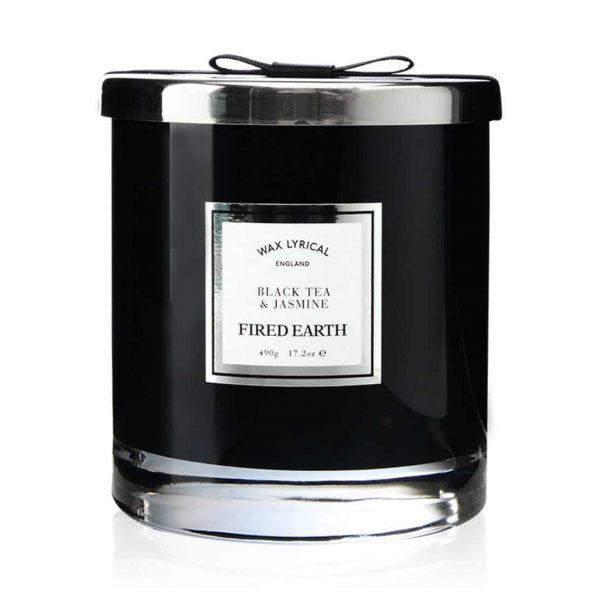 Wax Lyrical Black Tea and Jasmine Large 2 Wick Candle