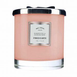 Wax Lyrical Darjeeling and Damask Rose Large 2 Wick Candle