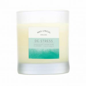Wax Lyrical De-Stress Wax Filled Glass Candle