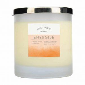Wax Lyrical Energise 2 Wick Candle