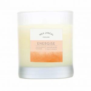 Wax Lyrical Energise Wax Filled Glass Candle
