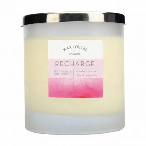 Wax Lyrical Recharge 2 Wick Candle