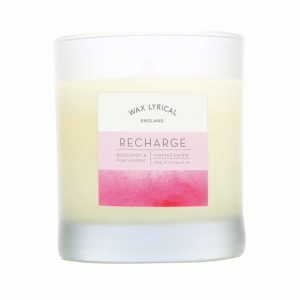 Wax Lyrical Recharge Wax Filled Glass Candle