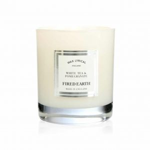 Wax Lyrical White Tea and Pomegranate Boxed Glass Candle