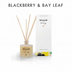Blackberry & Bay Leaf Diffuser by Willow and Honey.