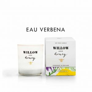 Eau Verbena Candle by Willow and Honey