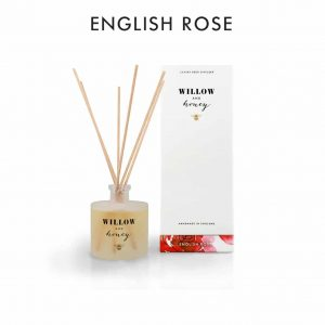 English Rose Diffuser by Willow and Honey.
