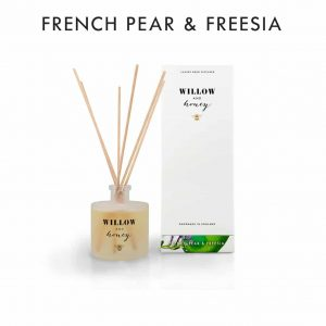 French Pear & Freesia Diffuser by Willow and Honey