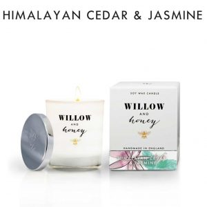 Himalayan Cedar & Jasmine Candle by Willow and Honey.