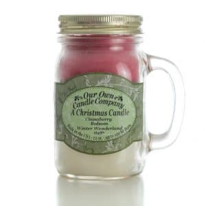 Christmas Triple Large Mason Jar by Our Own Candle Company