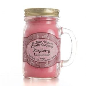 Rasberry Lemonade Large Mason Jar by Our Own Candle Company