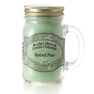 Spiced Pear Large Mason Jar by Our Own Candle Company