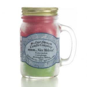 Melon Triple Large Mason Jar by Our Own Candle Company