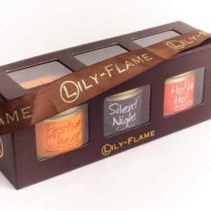 Lily Flame Christmas 2 - 3 mini Tins