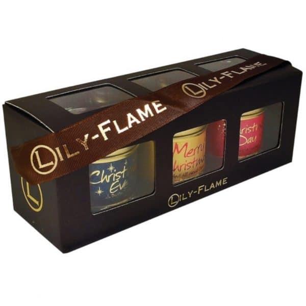 Lily Flame Christmas Gift 3 - 3 mini Tins