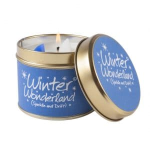 Winter Wonderland Tin Candle by Lily Flame